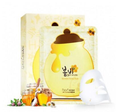 Papa recipe 春雨 蜂蜜补水保湿面膜 10片/盒 有效保湿,水润肌肤
