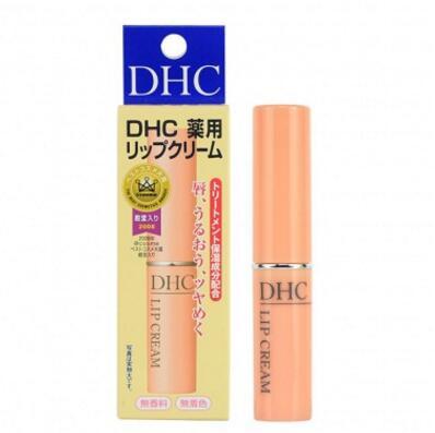 2件装|DHC 蝶翠诗 纯橄榄润唇膏 1.5克/支 滋润修护 抚平唇纹