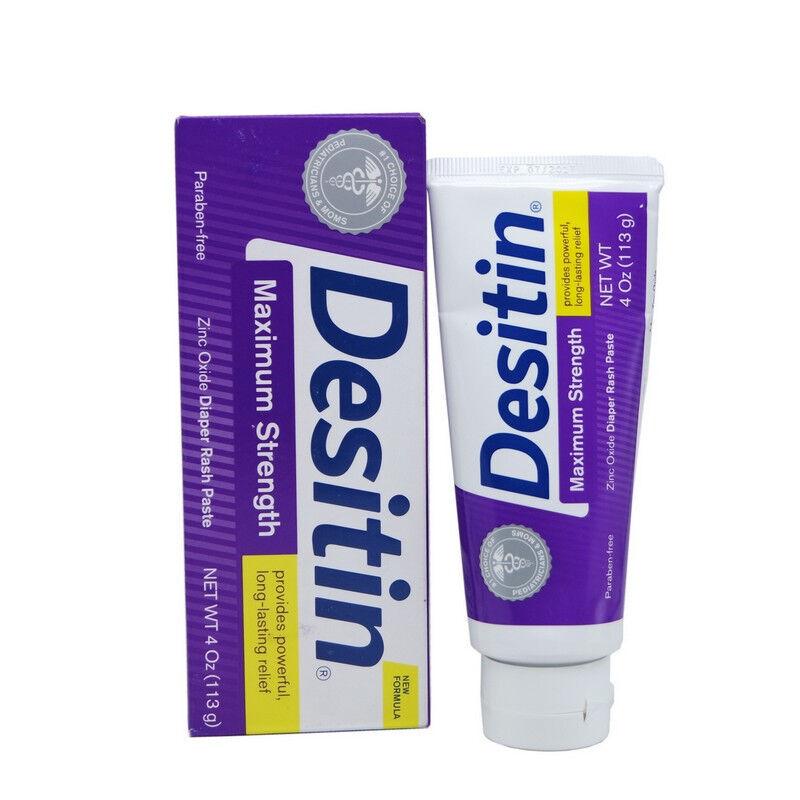 Desitin婴儿护臀霜/尿布疹膏113g克 紫色加强型 天然安全 保护皮肤 滋润保湿