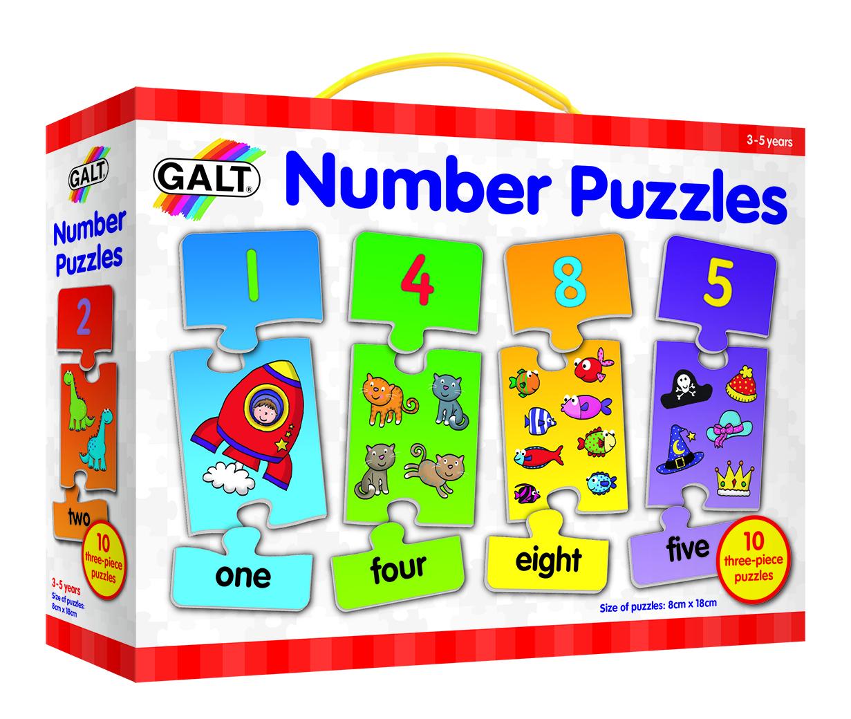 英国Galt 学玩系列拼图 培养宝宝认知能力,激发思维