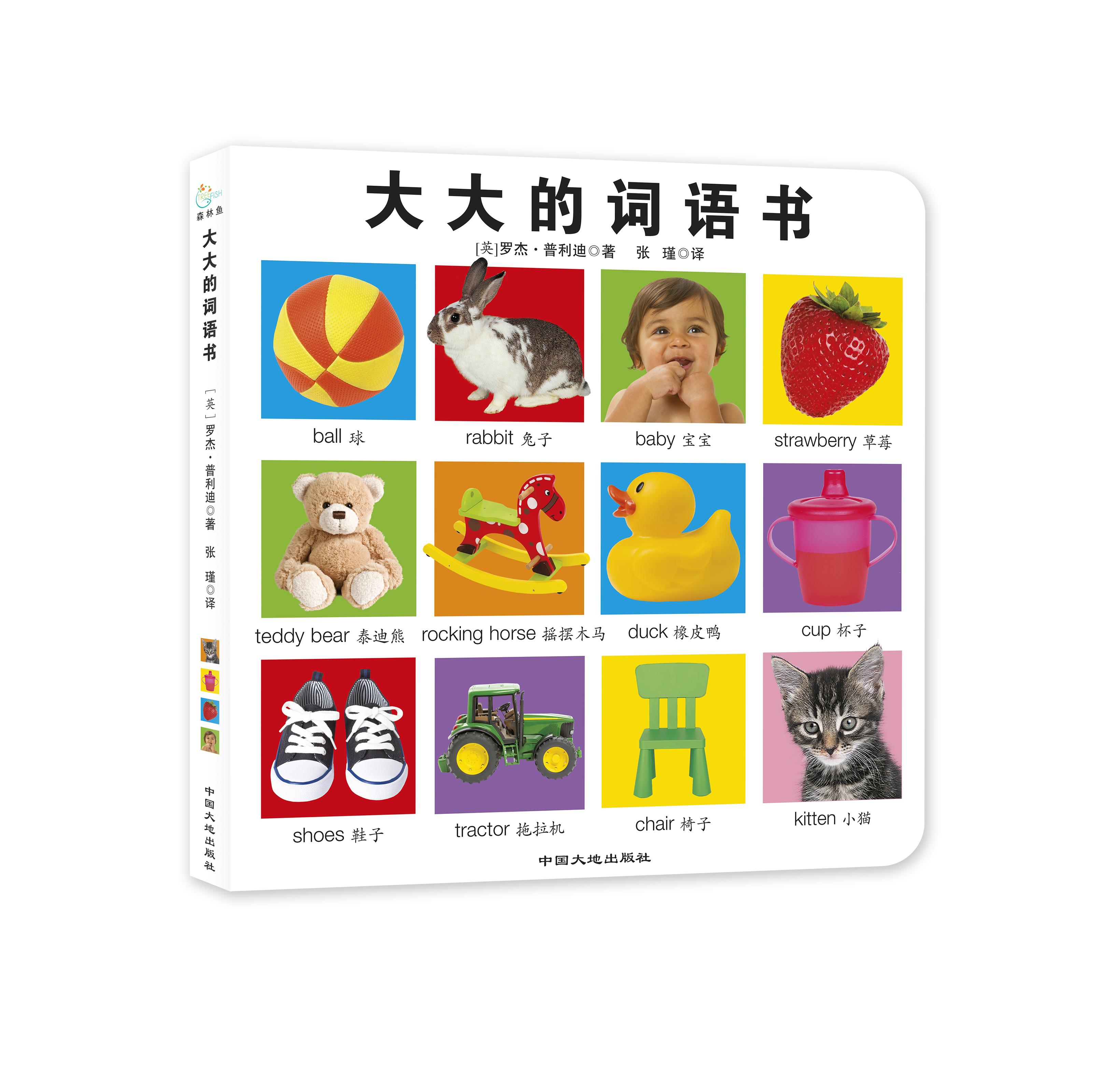 大大的启蒙书(全3册)(大大的词语书/大大的动物书/大大的恐龙书)