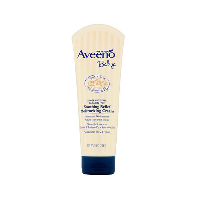 [套餐]Aveeno Baby 艾维诺 天然燕麦舒缓湿霜(深蓝) 226g 2支装