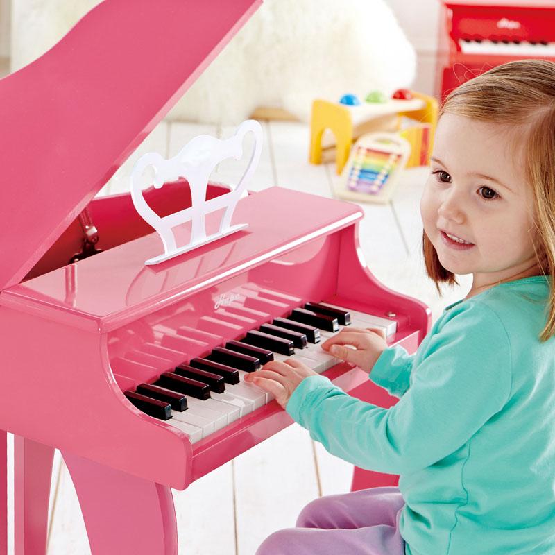 Hape30键黑色钢琴粉色/黑色