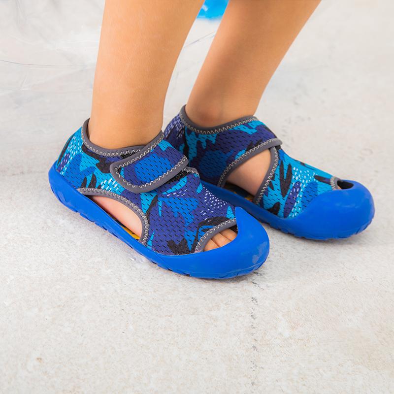 小蓝羊2020年夏款户外沙滩凉鞋18个月~10岁