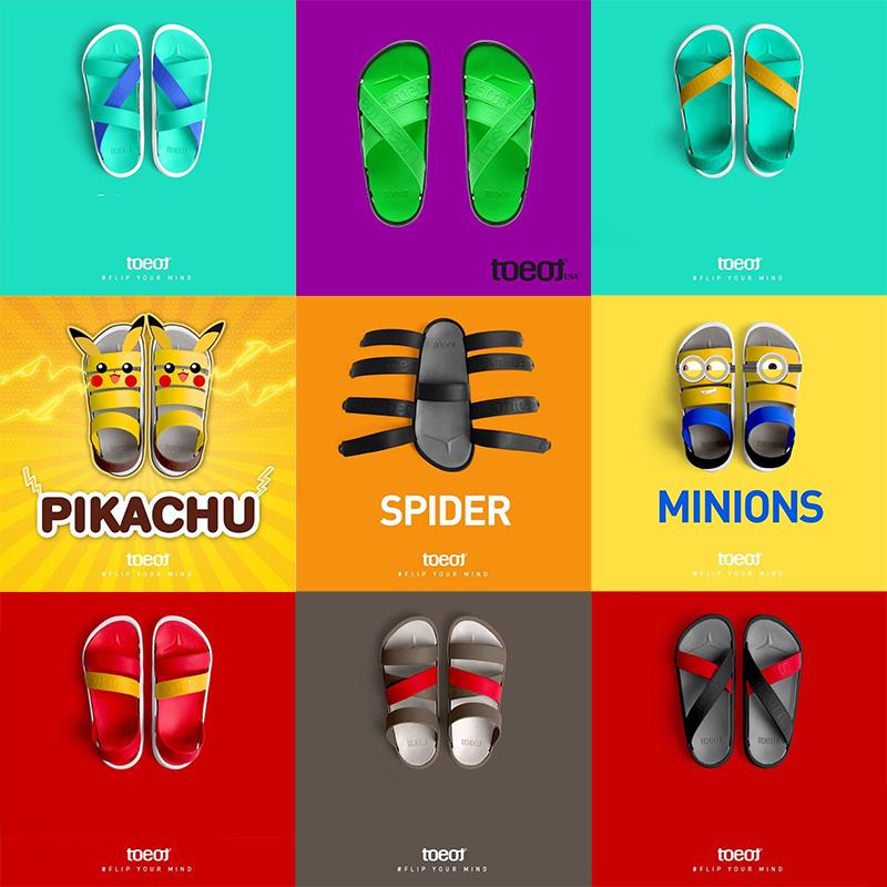 【此链接为鞋带】韩国toeot亲子沙滩凉鞋鞋带彩色