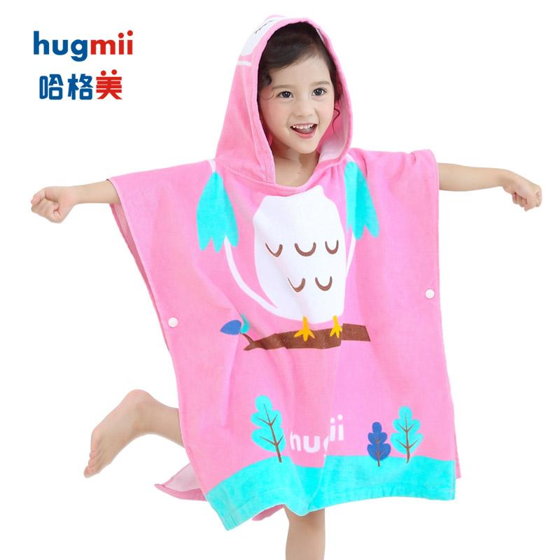 hugmii G2-动物款浴袍